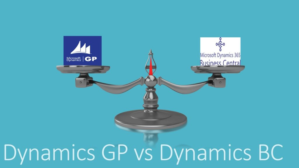 Dynamics GP Vs Dynamics BC